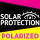 Solarprotection mit Polarisation