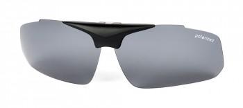 Clip mit Scheiben grau polarisierend
