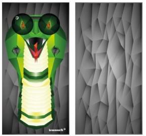 Multifunktionstuch Cobra